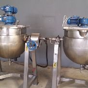 Cloma 220 Litre Stainless Steel Processing Vessels