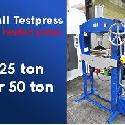 Arlo press heated plates , 25 or 50 ton