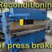 Reconditioning , Press brakes