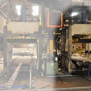 Valette panel press , 410 ton