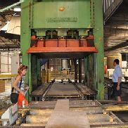 Becker panel press , 650 ton