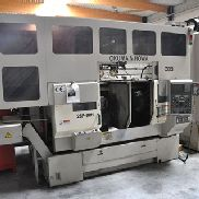 Okuma 2SP-30H , Twin Spindle CNC + gantry robot