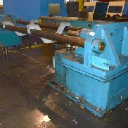 Press for rolls/tubes , 100 ton