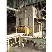 Sip 6000 ton , rubber pad press