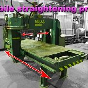 Fug mobile straightening press , 50 ton