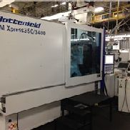 393 Ton Battenfeld Injection Molding Machine, Modell TM Xpress 350/3400, 53.19 Oz, 2014 Weinlese