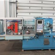 Used 72 Ton Krauss Maffei Injection Molding Machine, Model KM 65-160-C2, Manufactured 1998