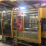 500 Ton Husky 2-Shot Injection Molding Machine, Model G500D RS60/50 RS50, New In 1999