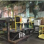 "Used 80"" Wide Sterling Sheet Line With 6"" Extruder 400 HP"