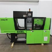 45 Ton Engel Victory Injection Molding Machine, Model VC 80/45 Promo US, 1.65 Oz, New In 2007