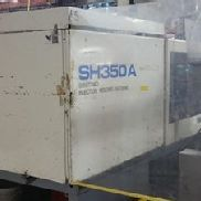 350 Ton Sumitomo Injection Molding Machine, Model SH350A, 38.3 Oz, New In 1997