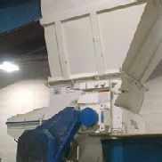 "Used 42"" Wide Vecoplan Single Shaft Shredder, Model RG 42/30 SWU, Manufactured 2007"