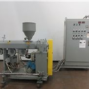"2"" Akron Extruder, Model PAK 200, 24:1 L/D, Air Cooled, 20 Hp"