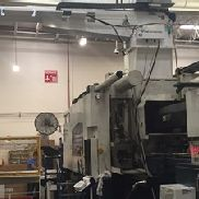 950 Ton Van Dorn Caliber Injection Molding Machine, Model 950/1250-6800, 165 Oz, New In 2005