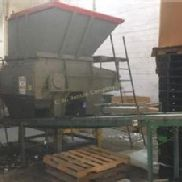 "52"" x 58"" Vecoplan Single Shaft Shredder, Model RG52/100SPK"