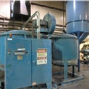 2,500 CFM Novatec MPC-2500 Dryer with 10,000 lbs Hopper