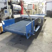 "48 ""Wide New London Conveyor Con detector de metales Eriez, 29 '' Longitud"