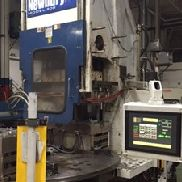 200 Ton Van Dorn Vertical Rotary Injection Molding Machine, Model 200VTCR21, New In 2003