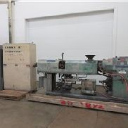"Used 2.5"" Sterling Single Screw Extruder, 36:1, Vented, 75 Hp"