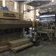 "78 ""Wide American Kuhne Sheet Line mit 6"" Single Screw Extruder, hergestellt 2001"
