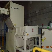 "25"" x 46"" Nelmor Dual Shaft Shredder/Granulator Combo, 40 Hp"
