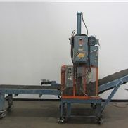 "32"" Hydraulic Guillotine Shear With Infeed/Outfeed Conveyor"