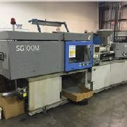 100 Ton Sumitomo Injection Molding Machine, Model SG100M-H, 5.5 Oz, New In 1999