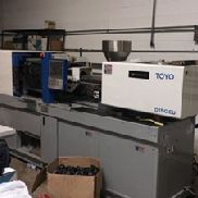 55 Ton Toyo Electric Injection Molding Machine, Model SI-55V, 2.31 Oz, Made New In 2012