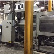 1000 Ton Van Dorn Injection Molding Machine, Model 1000H-RS-260F, 260 oz, New in 1994