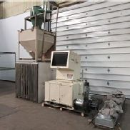 "16"" x 24"" Granutec Granulator, Model TFG1624, 50HP with Blower/Cyclone/Dust Filter"