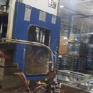 200 Ton Van Dorn Vertical Rotary Injection Molding Machine, Model 200VTCR21, New In 2004