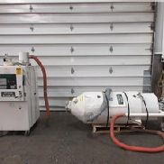 90 CFM Conair Desiccant Dryer Model CD100 With Hopper and Material Loader