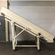 "30 ""Wide X 10 '' de largo, Cleated Incline Conveyor"