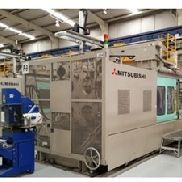 1450 Ton Mitsubishi Injection Molding Machine, Model 1450MMIII-240, 220 Oz, Made New In 2004