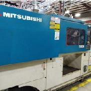 Machine de moulage par injection 150 Ton Mitsubishi, modèle MSJ-10, 10 Oz, Made New En 2003