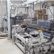 "84"" Wide Cast Film Extrusion Line With 4.5"" Egan Extruder"