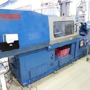 150 Ton Nissei Injection Molding Machine, Model FN3000-25A, New in 1997