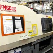 309 Ton Nissei Injection Molding Machine, Model FN6000-100A, 33 Oz, New In 2000