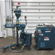 "1"" Akron Pedestal Extruder, Model PAK100T, 24:1 L/D, Air Cooled,5 Hp"