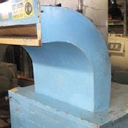 "7"" x 35"" Wortex Front of the Press Granulator, Model FP-735"