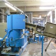 Used 120 MM Erema Pelletizing Line, Model RM120/35