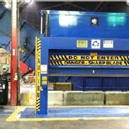 "72 ""W x 72"" H Recycling Equipment Inc. Roll-Splitter"