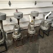 5 Boro SAP 110 Vacuum Pumps, .9kw/1.1 kw