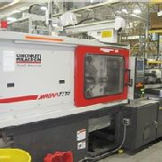 170 Ton Cincinnati Milacron Injection Molding Machine, Model MT170, 12 Oz, New In 2004