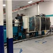 440 Ton Husky Injection Molding Machine, Model GL400GEN-RS120/110, 157.3 OZ, New In 2001