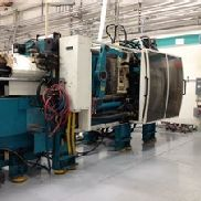 440 Ton Husky Injection Molding Machine, Modell GL400GEN-RS120 / 110, 157,3 OZ, New 2001