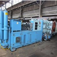 600 Ton Krauss Maffei Injection Molding Machine, 77.39 oz, Model KM 600/3500 C3, Manufactured 1999