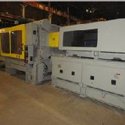 935 Ton Cincinnati Powerline Injection Moulding Machine, modèle N T 935-110, 110 Oz, nouveau en 2002