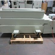 "7"" x 55"" Wortex Under the Press Granulator, Model UP755, 10 HP, Paddle Roll Feed"