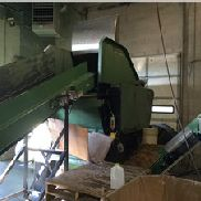 "42"" Wide Rapid Single Shaft Shredder, Pnuematic Ram"